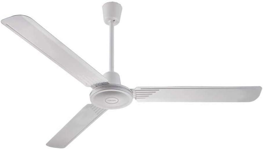 HAEGER Heli Fan - Ventilador de Techo con 70W de Potencia, 5 velocidades de ventilación - Ventilador de 3 aspas, silencioso, con Control de Pared