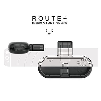 Receptor de Auriculares de Bluetooth,Adaptador inalámbrico para Nintendo Switch