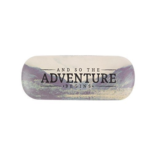Adventure Begins Spectacle Glasses Sunglasses Reading Storage Accessories Case Hunky Dory