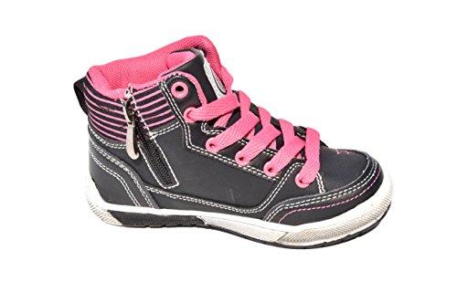 BTS - Zapatillas de Piel para niño Varios Colores - Schwarz/ Pink