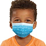 Just Play Children's Single Use Face Mask, Blue's