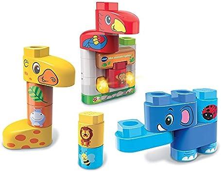 VTech- BlaBla Block Juego de construcción electrónico Animales Divertidos (3480-604622): Amazon.es: Juguetes y juegos