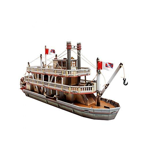 (Innovative 3D-Puzzles - The Steamboat - Wild West Series by Clever Paper (459))