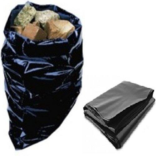 Heavy Duty Black Polythene Bags - 4