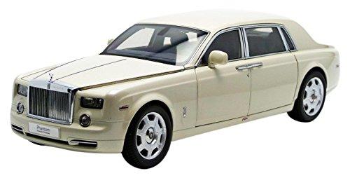 Rolls Royce Phantom Extended Wheelbase Carrera White 1/18 Kyosho 08841 CW