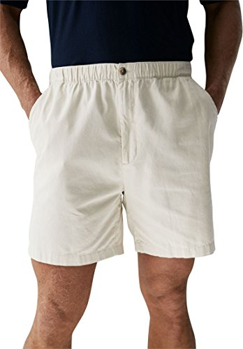 Back Elastic Twill Shorts (Kingsize Men's Big & Tall Knockarounds 6