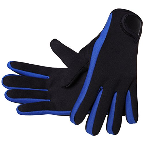 Micosuza Neoprene 1.5mm Five Finger Dive Gloves ()