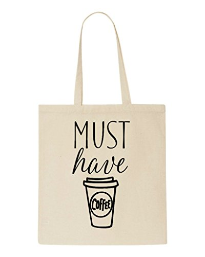 Must Have Shopper Beige Coffee Tote Bag qqrwY4