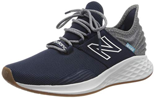 New Balance Men's Roav V1 Fresh Foam Running Shoe, Natural Indigo/Light Aluminum, 8 D US