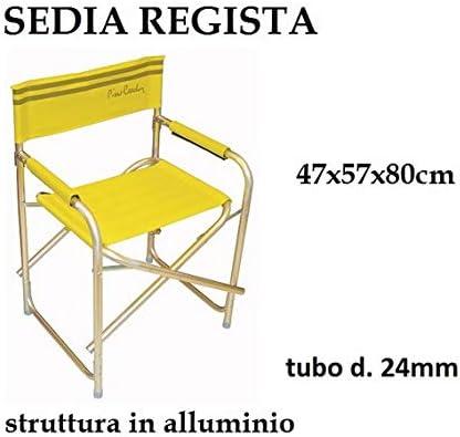 Sedia Regista Alluminio Offerte.Edildecori Di Pignataro Offerta Prestagionale Sedia Regista
