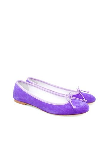 amethyst purple Flats Women's Ballet Amethyst BOBBIES tqgAIw