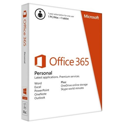 Microsoft Office 365 Personal (PC Software)