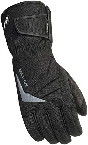 Touch Screen Large Overlay - TourMaster Men's Cold-Tex 3.0 Motorcycle Gloves (Black, Large)