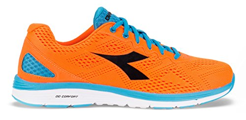 Diadora - Zapatillas de Material Sintético para hombre Arancione