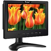 EYOYO 7 inch 16:9 TFT LED Color 1024x600 Full HD Monitor Display Screen With HDMI BNC VGA AV USB Input with Build-in Speaker (7 inch 16:9 1024x600)