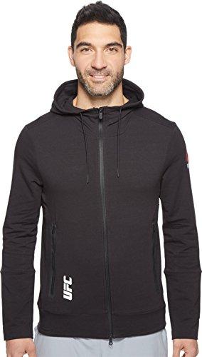 Reebok Men's UFC Train Hoodie Black/Black Shirt