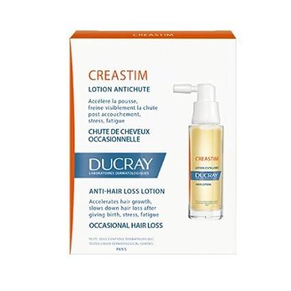 Ducray CREASTIM nuevo anti pérdida de cabello Loción acelera el crecimiento del cabello 2 x 30