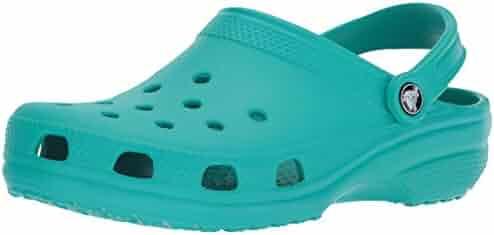 Crocs Classic Clog, Tropical Teal, 11 US Men / 13 US Women