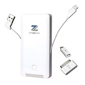 Zuria Pro PowerBank - Batería portátil para dispositivos electrónicos (lithium polymer, 6000 mAh)