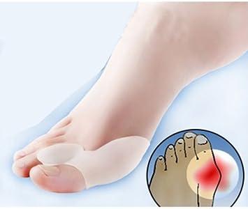 2pairs Gel Bunion Big Toe Separator Spreader Eases Foot Pain Foot Hallux Valgus Guard Cushion,