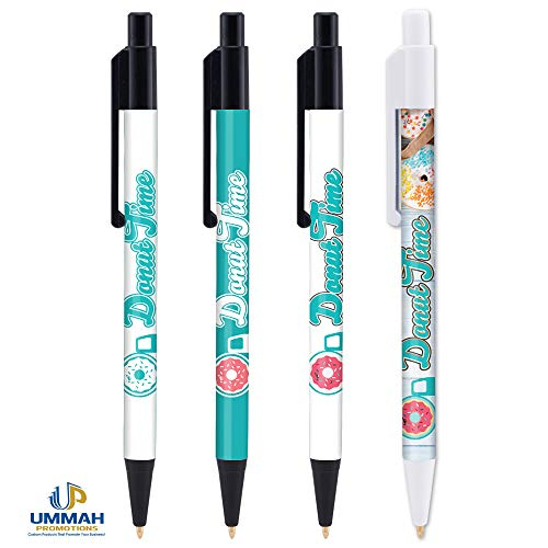 250 Personalized USA Made Colorama Pen Imprinted with Your Logo/Company Information/Name in Full Color ()