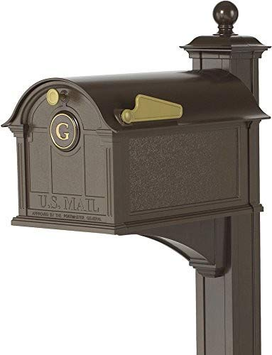 Whitehall Products Balmoral Mailbox, Bronze by Whitehall (Image #4)