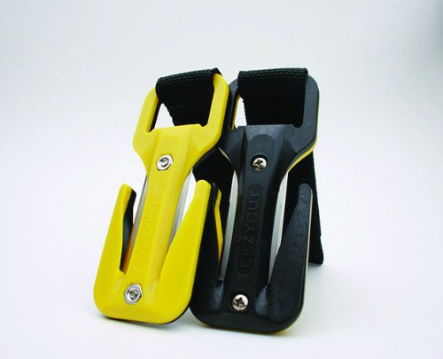 Eezycut Trilobite Webbing and Line Knife, Watch / Computer Mounted in Yellow