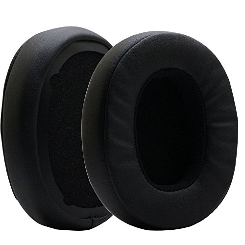 POYATU Earpads for Skullcandy Crusher Bluetooth Wireless Over-Ear Headphones Replacement Ear Cushions Earbuds Ear Pads Repair Parts Black
