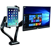 CTA Digital PAD-2AMT 2-1-in-1 Adjustable Monitor and Tablet USB Hub
