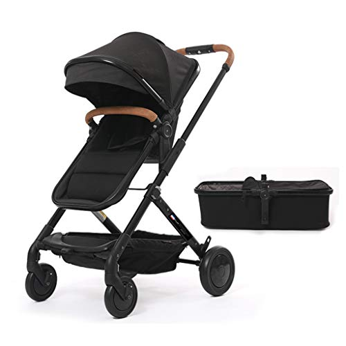☝YEC Baby Pushchair, Ultra-Light Portable Two-Way Sitting Reclining Child Seat Stroller (Color : B(with Sleeping -