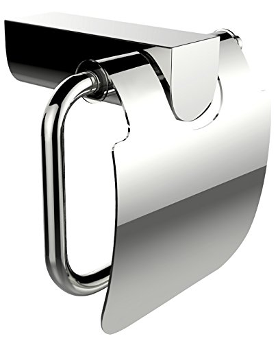 American Imaginations AI-3051 Brass Constructed Toilet Paper Holder, Chrome by American Imaginations