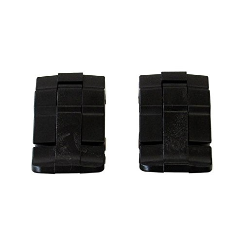 4 Black Replacement Latches for Pelican 1700, 1720, 1750 Cases.