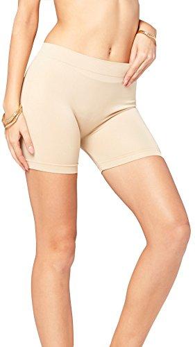 Lycra Spandex Shorts - Premium Basic Spandex Boyshort Leggings - Slip Shorts, Bike, Yoga Short - 19