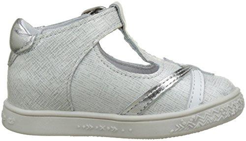 babybotte Starmiss, Zapatillas Altas para Niñas Blanc (Blanc Paillete)