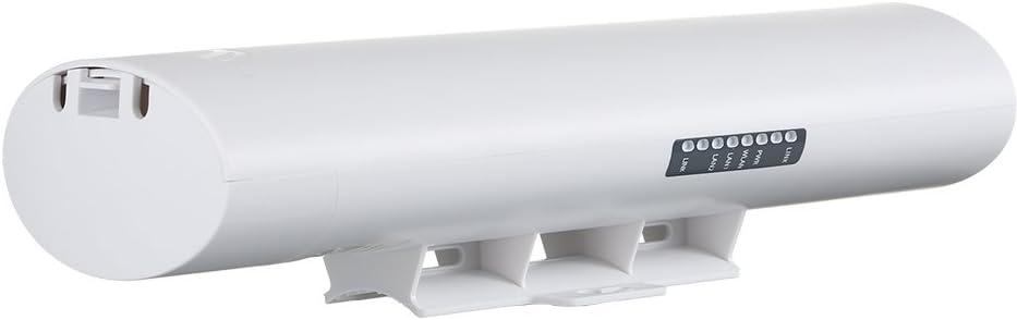 Docooler Puente Inalámbrico al Aire Libre CPE 900 Mbps 5.8G 14dBi Antena Direccional Acceso Inalámbrico Punto a Punto de Largo Alcance (A + B)