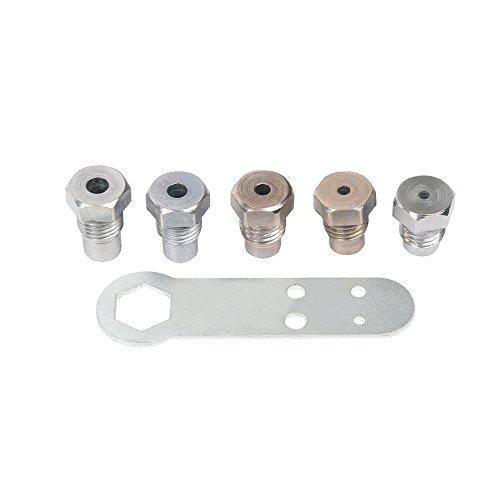 Rivettatrice manuale 5 in 1 pinza cieca con contenitore di raccolta 6,4 mm FreeTec 5 bocchini 4,0 mm 3,2 mm 6,0 mm 4,8 mm