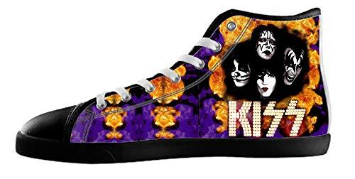 Canvas High Rock Style Shoes Top Women's Black1 d84q7C7w