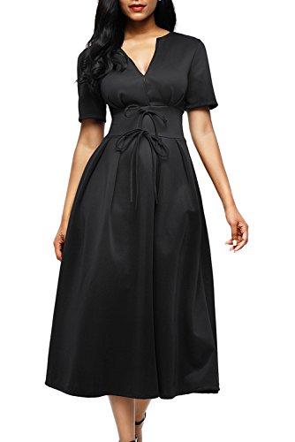 formal black dresses for work - 8