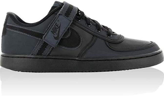 hígado Demonio desconcertado  Amazon.com: Nike Vandal Low - Black / Black-White-City Grey, 13 D US: Shoes