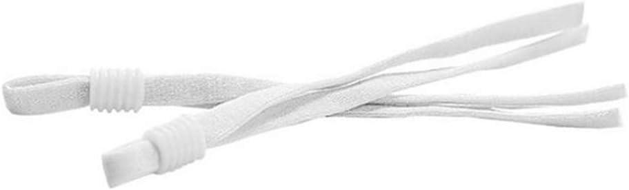 5mm Cordon /Élastique Stretch Blanc Rubans pour Couture et Loisirs Cr/éatifs Extensible pour Artisanat V/êtements Bricolage DIY Dihope