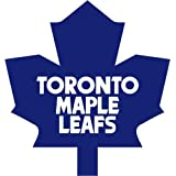 "Toronto Maple Leafs NHL Hockey Car Bumper Sticker Decal 5"" x 5"""