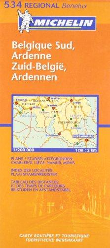Belgique Sud, Ardenne/Zuid-Belgie, Ardennen (Michelin Regional Maps)