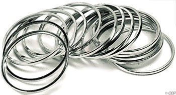 (Wheels Manufacturing 2.0mm Cassette/Bb Spacer (Bag of 10))