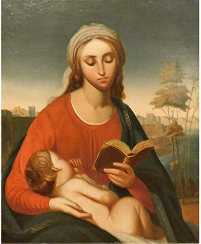 5D DIY Diamond Painting Cross Stitch Virgin Mary Jesus Religion Icon Mosaic Gift Home Decoration