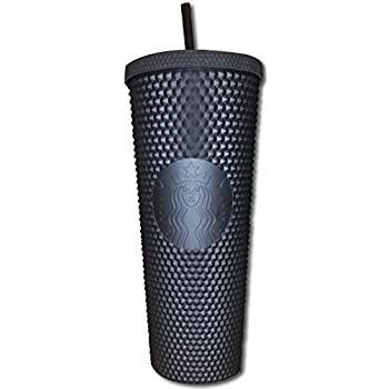 Starbucks Fall 2019 Matte Black Studded Plastic Tumbler Cold Cup Limited Edition 24 Oz