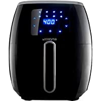 Cozyna 5.7-Quart XL Touchscreen Air Fryer with 8 Cooking Preset and Airfryer Cookbook (over 50 recipes)