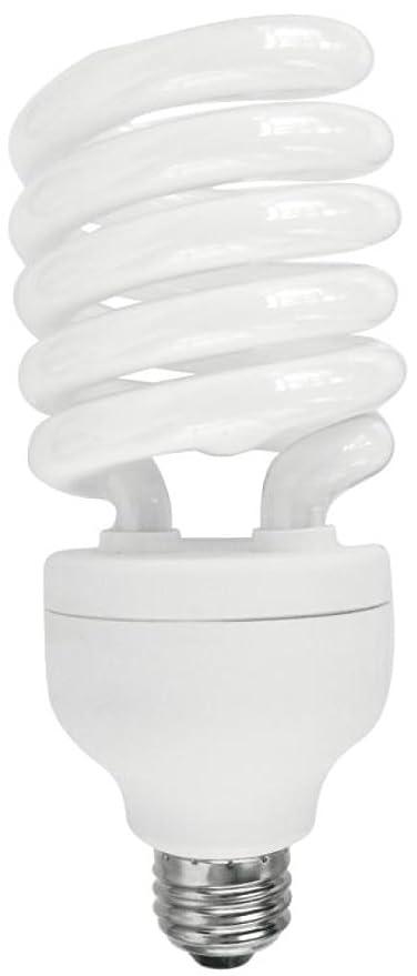 3791900 42 Watt Twist Cfl Daylight High Wattage Light Bulb With Medium Base