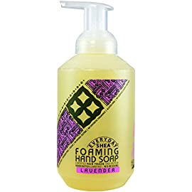 Alaffia - Everyday Shea - Foaming Shea Butter Hand Soap, 18 Ounces 24 100% fair trade ingredients. Gentle yet thorough cleansing. Non-drying formula.