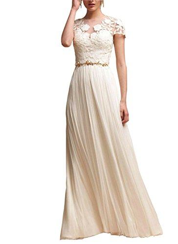 capped wedding dress - 5