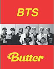 BTS Butter: BTS College Ruled Lined Notebook / Journal / Diary, Great Gift idea for BTS ARMY Fans, Family, Freinds and For special holidays ( ... Father Day, Mother Day and Birthdays)